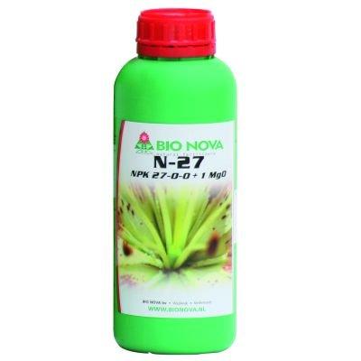 Bio Nova N 27 1L Wuchs Booster NPK Dünger Grow Hydrokultur