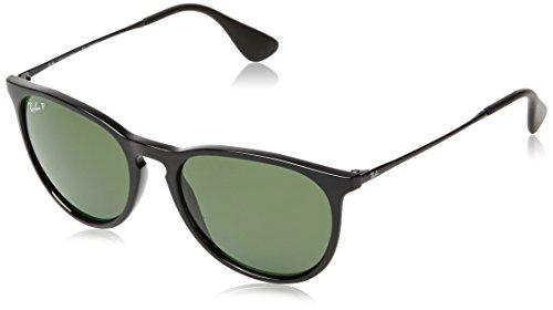 Rayban Unisex Sonnenbrille Rb4171 54 601/2p, Gestell: Schwarz, Gläser: Polarized Grün Klassisch, Large (Herstellergröße