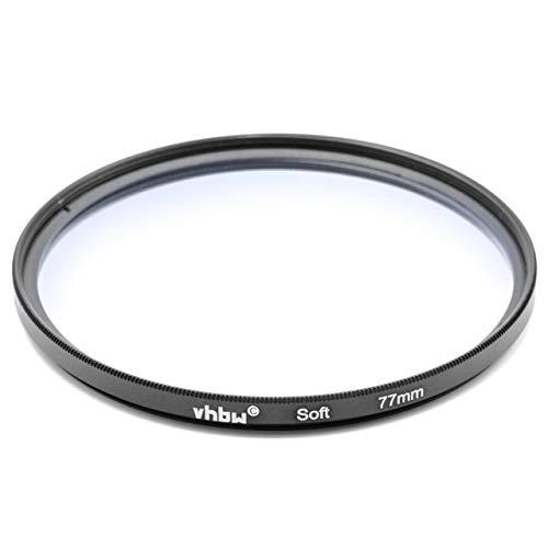 vhbw Weichzeichner Filter für Soft Effekt 77mm passend für Kameras, Digitalkameras, DSLR z.B. von Canon, Nikon, Olympus, Panasonic, Sony