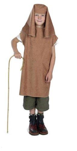 Joseph Krippe Childs Fancy Kleid Bademantel & Kopfschmuck von Charlie (Joseph Krippe Kostüme)
