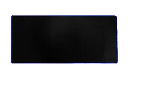 Woodlandu gro? Gaming Mouse Pad Gen?hte Kanten Geschwindigkeit seidiger Oberfl?che rutschfeste Gummiuntermatten 300x700x2mm/11.8x27.56x0.08inch Blau Edges