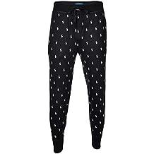890188a6a32a Polo Ralph Lauren Herren Jogginghose - Jogger Pant, Sleep Bottom, lang,  schwarz