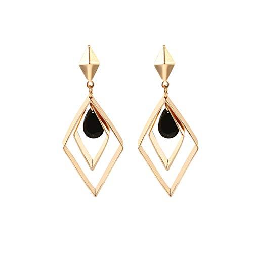sche Ohrstecker Einfache Tropfen Baumeln Ohrring Baumeln Kostüm Ohrring Für Frauen ()
