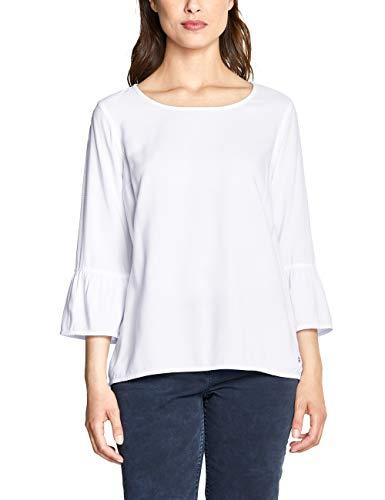 CECIL Damen 341472 Bluse per pack Weiß (White 10000), XX-Large (Herstellergröße:XXL)