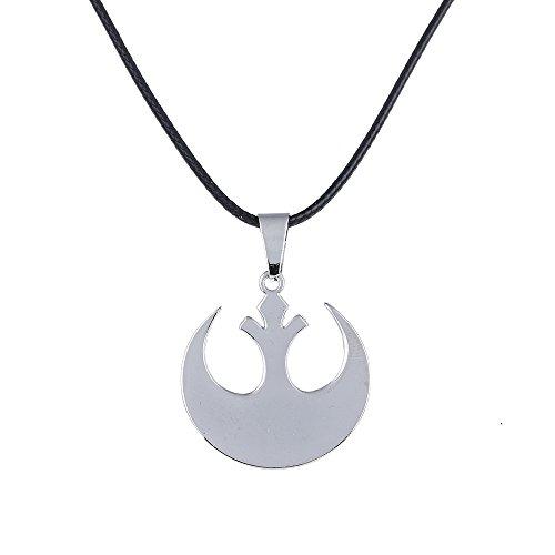 Lureme Star Wars Schmuck Unisex Rebel Alliance Anhänger Halskette, 20