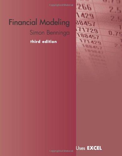 Financial Modeling por Simon Benninga