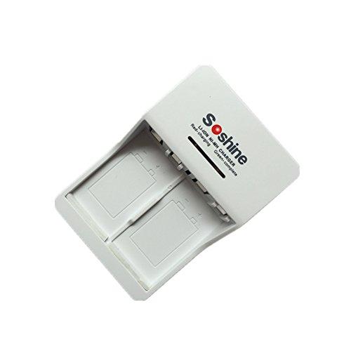 Universal recargable cargador de batería para 9V 6F22Li ion 8.4V Ni MH 9,8V 11.2V