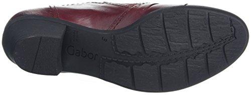 Gabor Damen Casual Pumps Rot (55 dark-red)