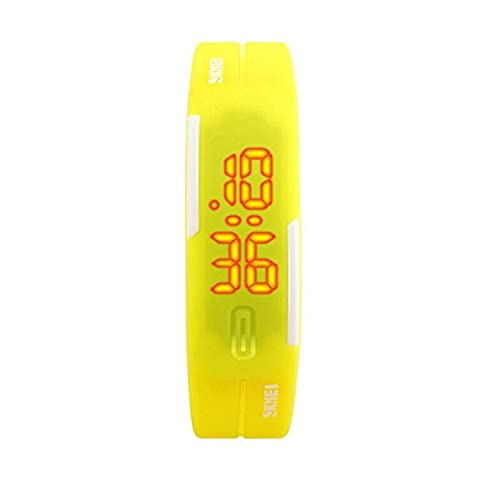 TTLIFE 1099 Unisex weibliche Sport Uhren Female Digital Outdoor-Armbanduhr Wasserdicht - Automatico Blu Mens Watch