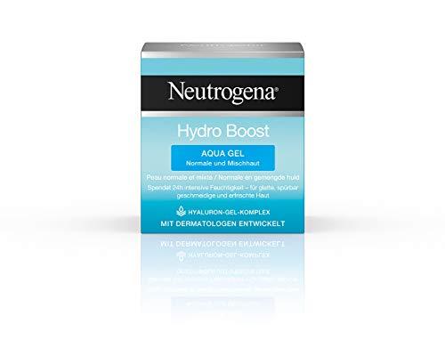 Neutrogena Hydro Boost Aqua Gel - Feuchtigkeitspflege mit Hyaluron-Gel-Komplex - 1 x 50 ml