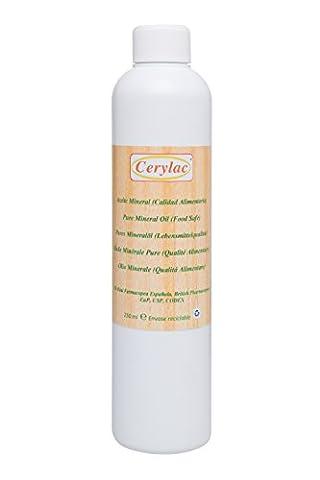Reines Mineralöl für Holz, Schiefer und Stein - 250 ml.