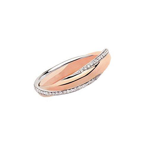 Fede Matrimoniale Polello Oro E Diamanti K 0.27 Luce