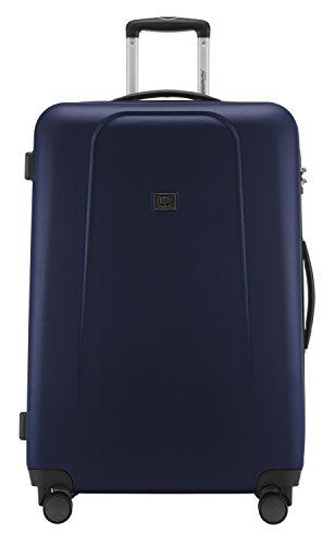 HAUPTSTADTKOFFER - Wedding - Großer Hartschalen-Koffer Koffer Trolley Rollkoffer Reisekoffer Spinner, 4 Rollen, TSA, 75 cm, 103 Liter, Dunkelblau - 3