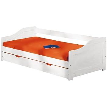 link 20900215 sofabett leonie 209x97 66cm k che haushalt. Black Bedroom Furniture Sets. Home Design Ideas