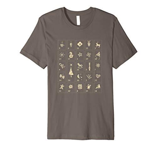 Adventskalender Weihnachts T-Shirt
