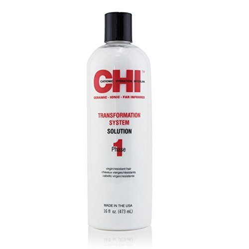 CHI - Transformation System A - Phase 1 - Solution CHI Transformation System - Haarglättung - Phase 1 Solution - rote Formel - 450 ml - Solution Transformation