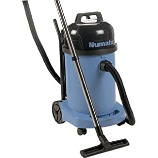 Winware Professional Wet 'N' Dry Vacuum Cleaner WV470 (Hardworking wet and dry vacuum for professional use. Folding handle provides easy transportation and compact storage. For wet mode simply exchange dry filter for safety float valve.)