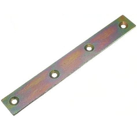 8 x Corner Brace Support Right Angled L Brackets YZP Steel 100mm 4