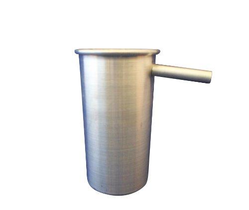 Ajax Scientific ME390–0100poliert Tabelle können Aluminium Überlauf, 65mm Durchmesser X 120mm Höhe (Durchmesser-tabelle)