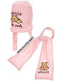 Winnie l ourson Echarpe et bonnet péruvien bébé fille Ecru et ... 219a0d8f036