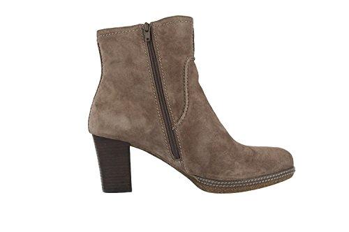 GABOR comfort bottines femme-gris-chaussures en matelas grande taille Gris - Gris