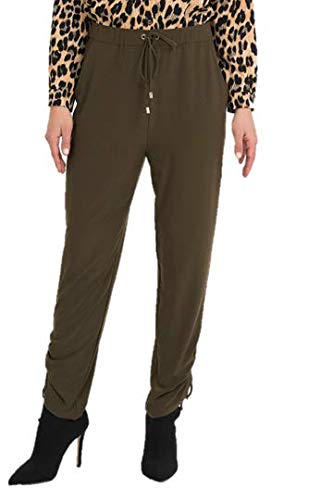 Joseph Ribkoff Safari Green Pants Style 194053 - Fall/Winter 2019