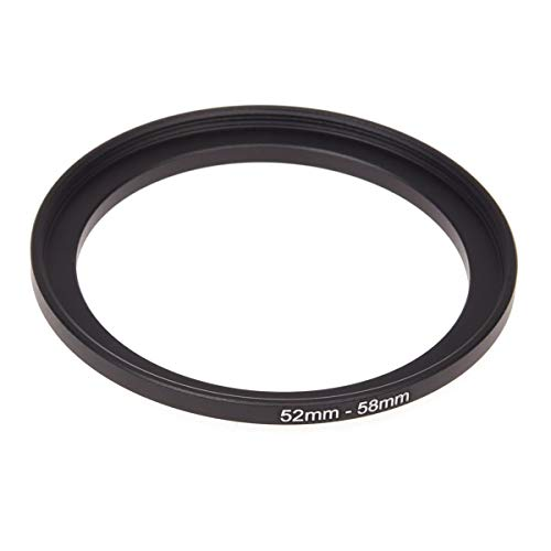 SeaStart Kamera 52mm Lens 58mm Zubehör Step Up Adapter Ring;Werkzeug Necessio
