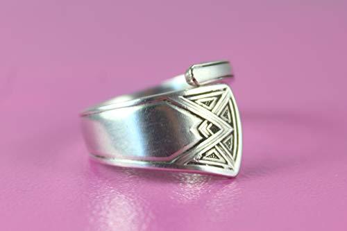 Besteckschmuck, Schmuck Ring, ca. 60 (19,1) Ring aus Besteck