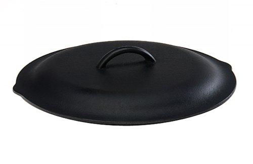 Lodge L6SC3 Gusseisendeckel, 22,9 cm 12-inch schwarz -