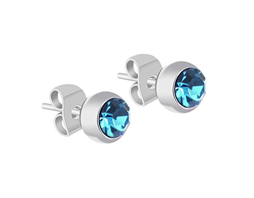 yparah-Orecchini Beauty-Blu-cristallo della casa Swarovski-Donna