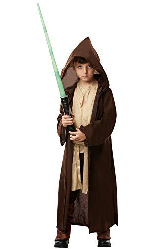 Star Wars - Disfraz Túnica Jedi Premium niños, infantil