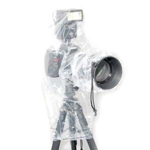 Pack de 2 housses de protection anti-pluie JJC RI-6 pour appareil photo avec objectif de 450 mm max. et flash externe