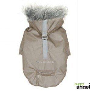 slinky-chaqueta-bomber-perros-champan-de-plata-talla-xxxl-espalda-longitud-40-43-cm