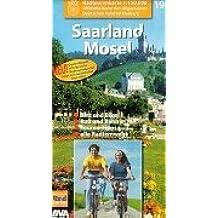 Radtourenkarten 1:150000 (ADFC): ADFC Radtourenkarten, Saarland, Mosel