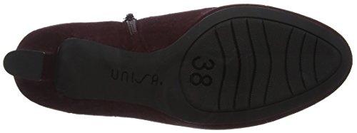 Unisa Nenet_f17_ks, Chaussures À Talons Rouges Femmes (raisin)