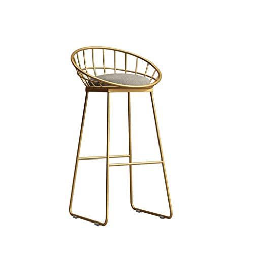 Barstühle Moderne Mode Minimalistischen Stil Eisen Barhocker Hohe Hocker für Küche und Esszimmer Sitzhöhe 75 cm / 65 cm / 45 cm - Eisen Barhocker