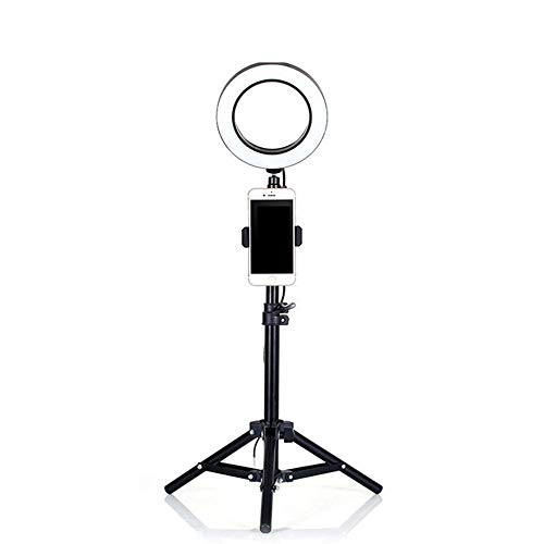 Ringlicht mit Ständer faltbar, 50 cm / 160 cm / 210 cm 240 LED 5500K dimmbarer Ring für Fotokamera Videokamera Make-up Youtube Studio Shooting,210cm -