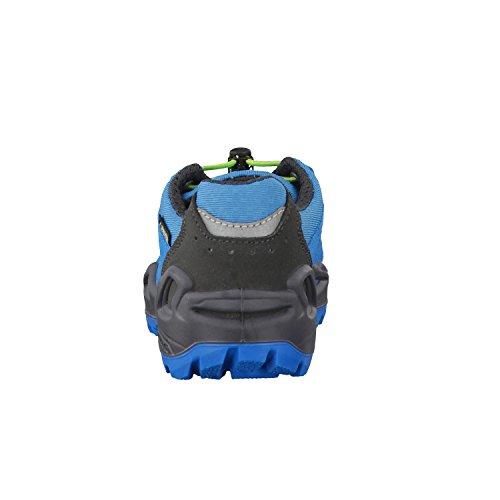 Lowa Diego Gtx Lo, Stivali da Escursionismo Unisex – Bambini Blu / Lime