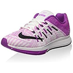 Nike Wmns Air Zoom Elite 8, Zapatillas de Running para Mujer, Blanco (White/Black-Hyper Violet), 37 1/2 EU