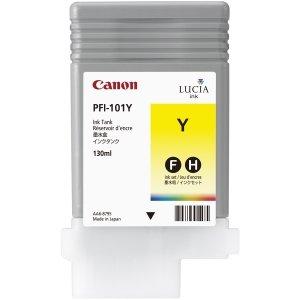 Canon PFI-101Y Cartouche d'encre d'origine Jaune