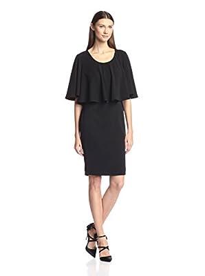 Badgley Mischka Women's Flare Top Sheath Dress