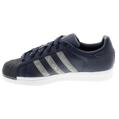 adidas Superstar, Baskets Homme, Bianco Bleu (Legend Ink F17/grey Three F17/trace Cargo S17)