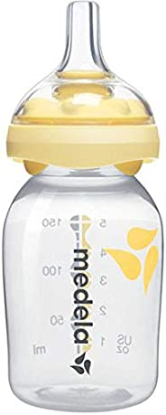 Medela Calma Breastmilk Bottle 150 ml, Clear