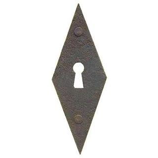 Antikhof Beschlag Eisen/Antik gerostet 3,5 x 10cm