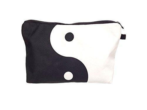Beauty Case, borsa da viaggio, borsetta da toilette sacco sacchetto bagno per cosmetici trucco make up motivi diversi, Kosmetiktasche KT-002-050:KT-007 Yin Yang