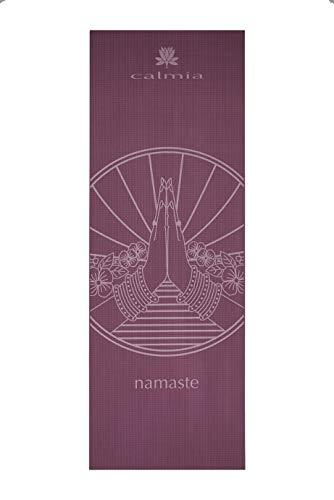 5ae529963 Calmia Namaste Hands Yoga Mat Printed Premium Eco-Friendly Non Slip 4.5mm  thick