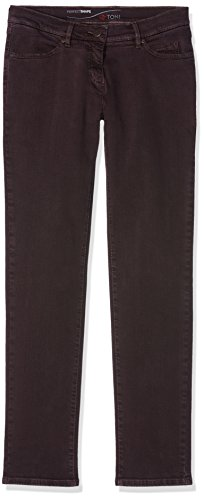TONI Damen Jeans (Schmales Bein) Perfect Shape Slim Red (Deep Red 493), W33/L29 (Manufacturer Size:40K)