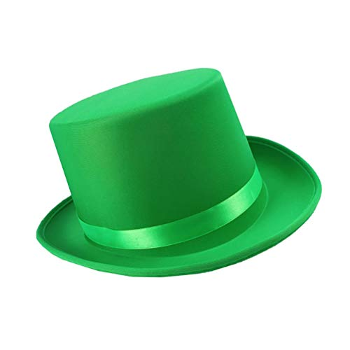 BESTOYARD St. Patricks Day Zylinderhut Irischer Hut Irland St. Patricks Day Costume Accessory (St Pattys Tag Kostüm)