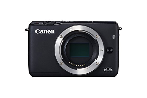 Canon EOS M10 - Cuerpo de cámara digital compacta de 18 MP (CMOS de 22,3 x 14,9 mm, AF), color negro