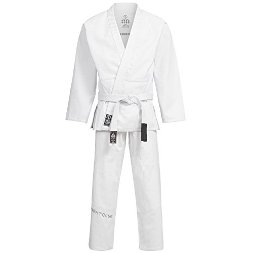 BJJ Kimono / Anug / Gi / in SLIM-FIT & neuem Schnitt / Farbauswahl / Größenauswahl (Weiß, A2 / 170cm-180cm) (Kinder Gi Für Jiu Jitsu)